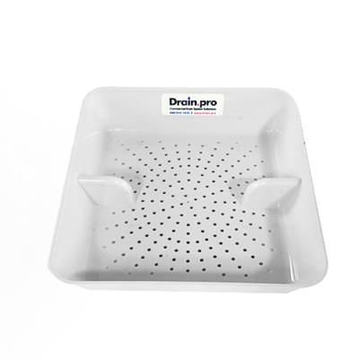 Poly drain guard basket 8.5""