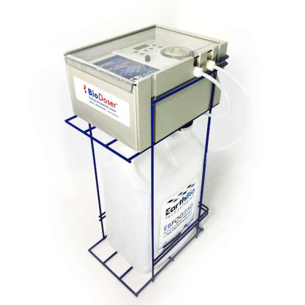 BioDoser rack system f-style jug 2.5 gallon